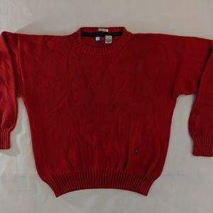 Tommy Hilfiger Mens Sz Medium Sweater Crest Cotton